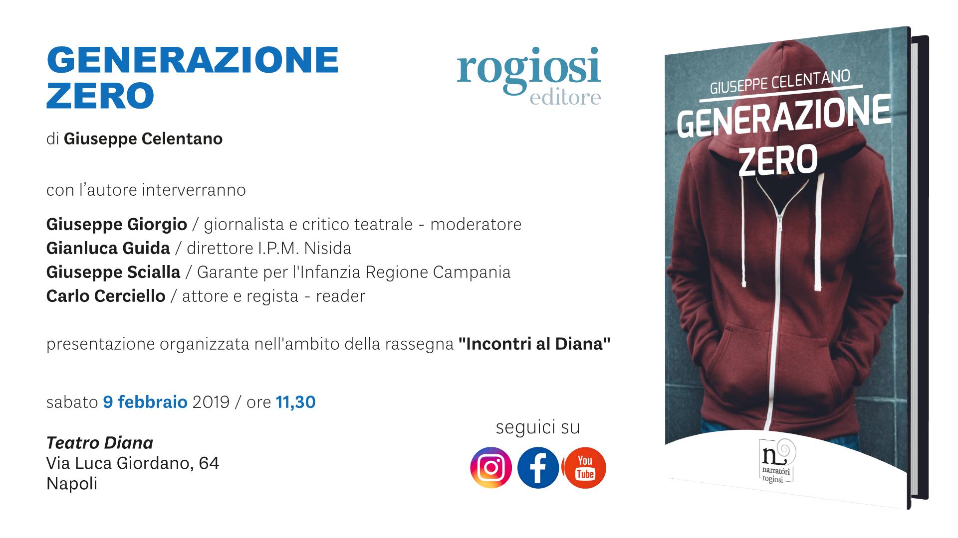 Generazione Zero – Presentazione Libro