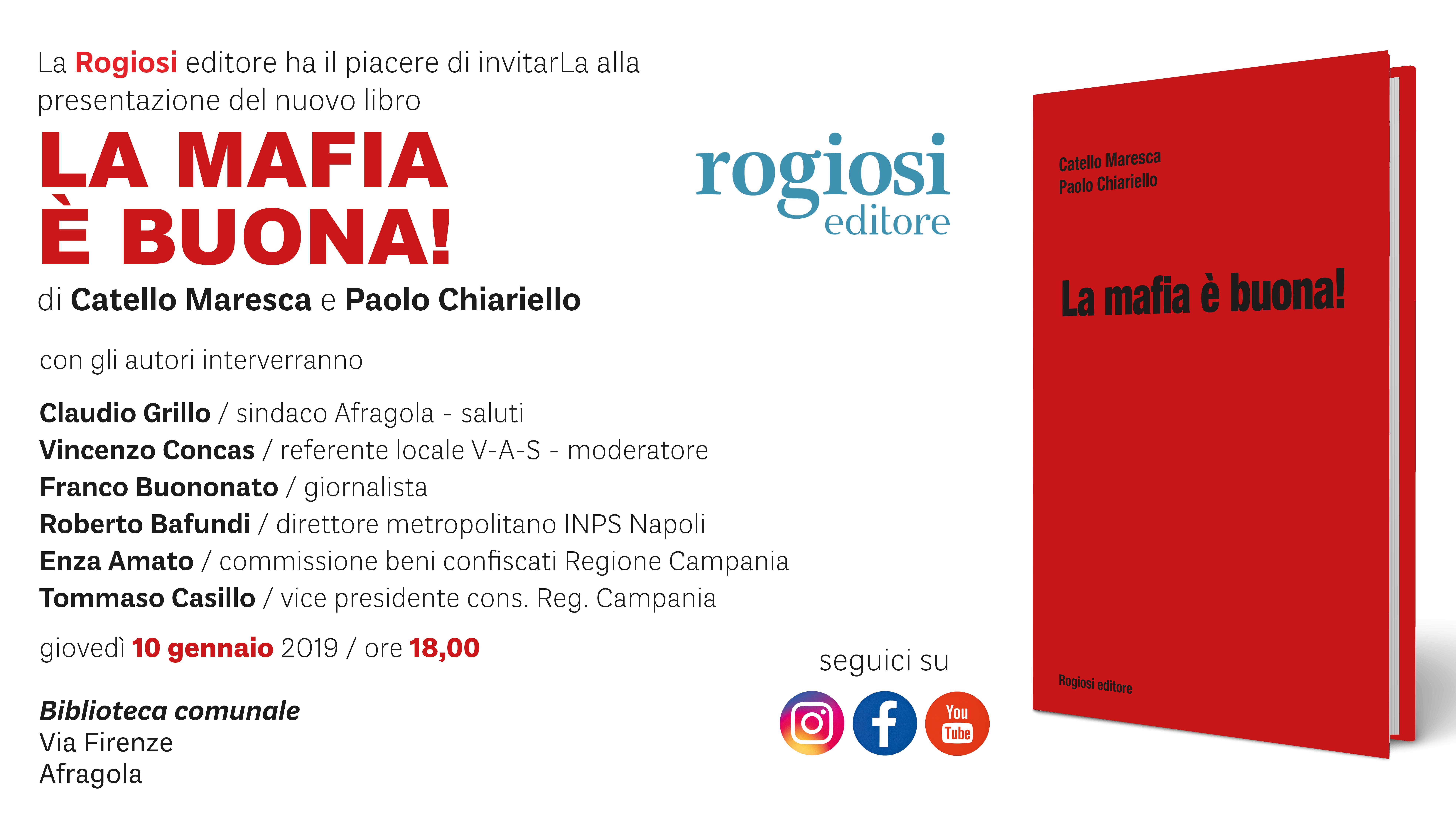 La Mafia è Buona! Biblioteca Comunale di Afragola