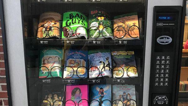 distributore automatico di libri
