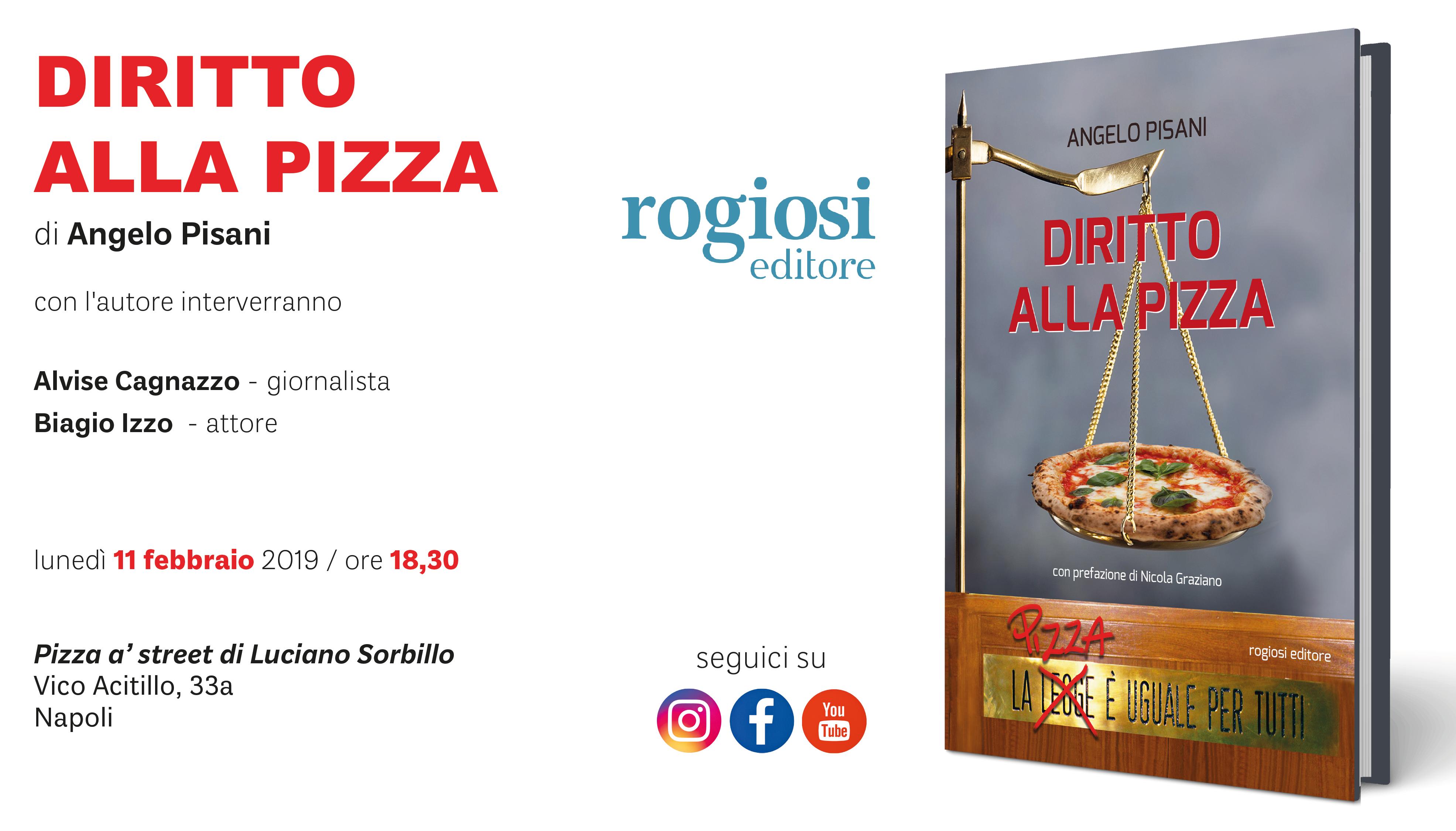 Diritto alla Pizza – Presentazione Libro
