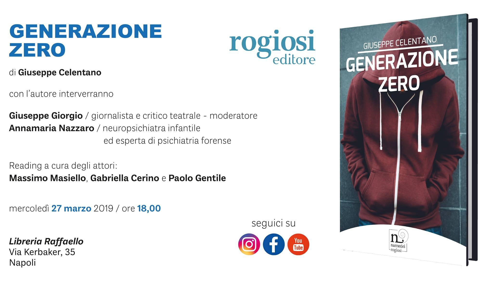 Generazione Zero alla Libreria Raffaello