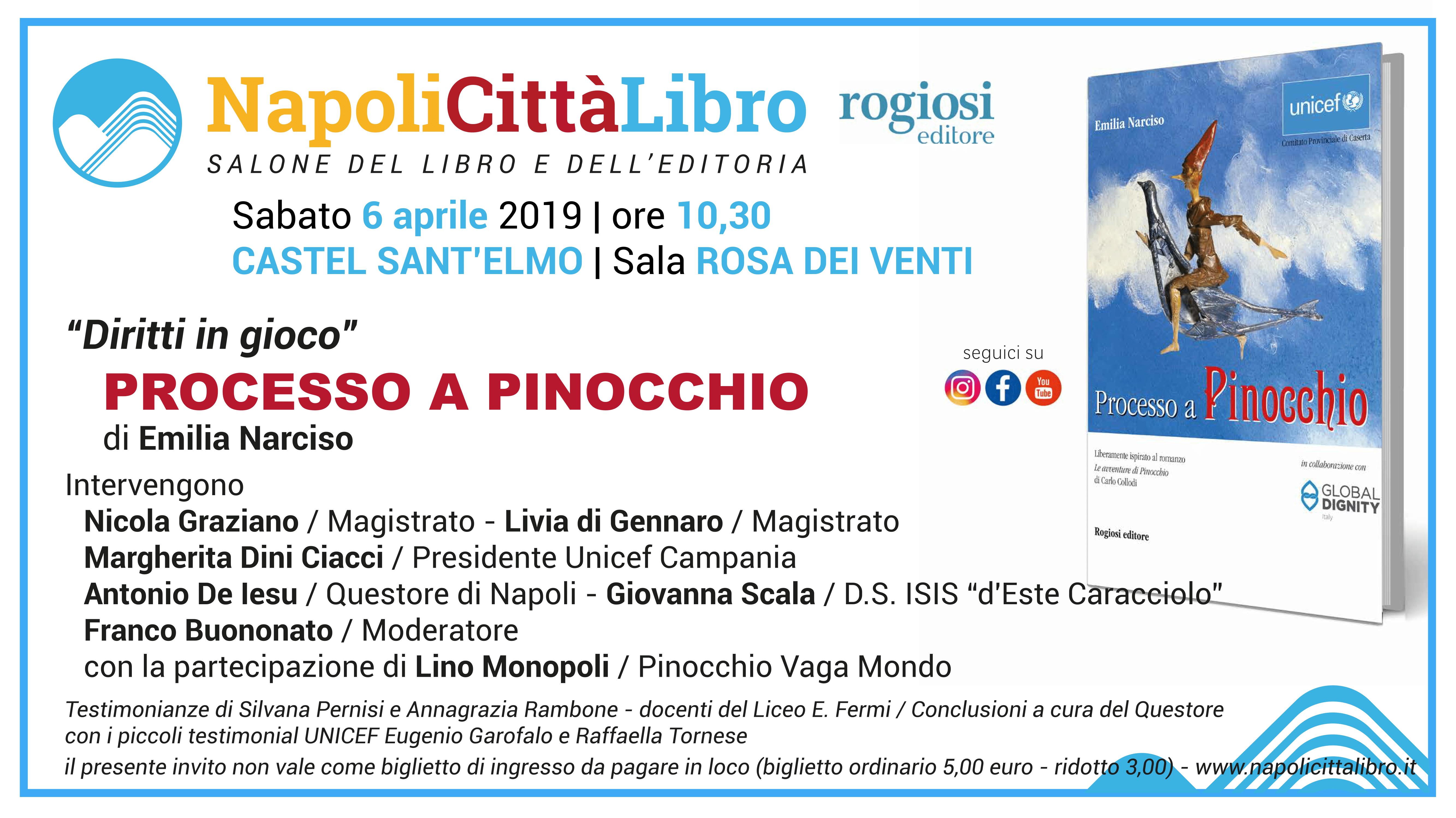 Processo a Pinocchio di Emilia Narciso – 6 Aprile – NapoliCittàLibro