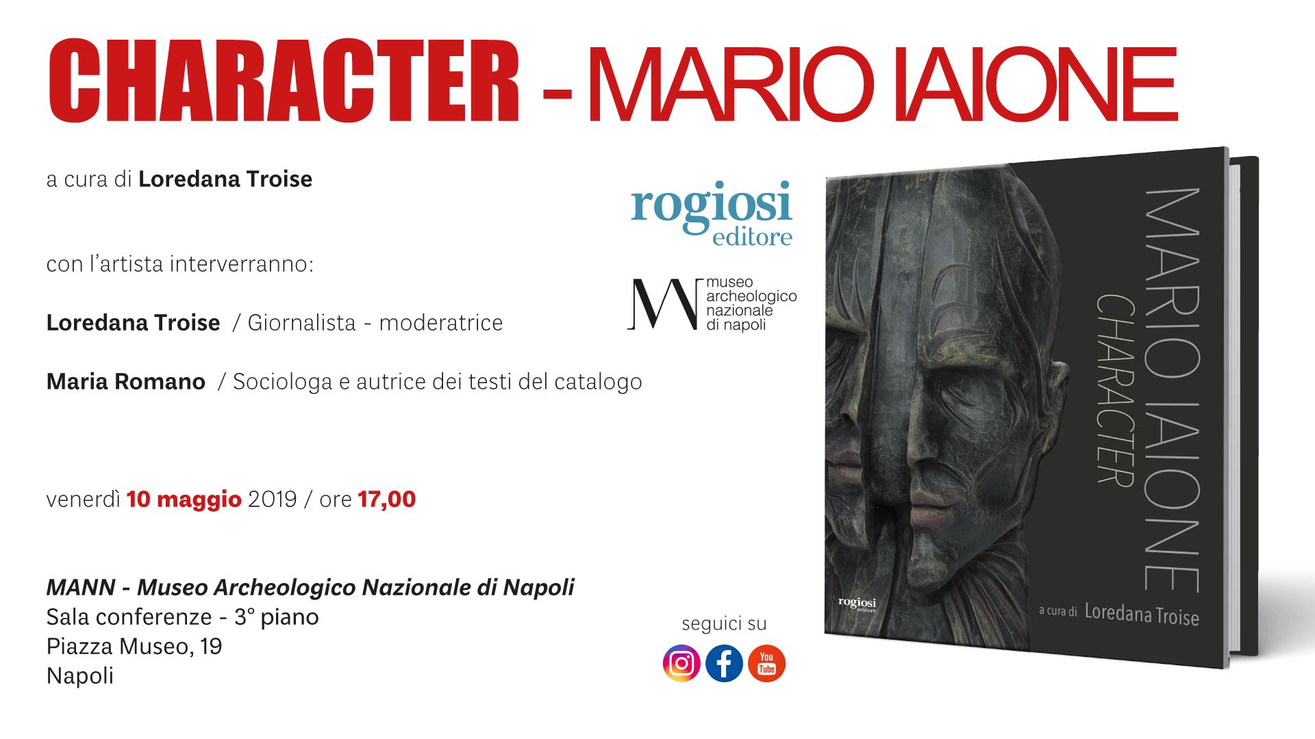 Character al Mann di Napoli – 10 Maggio