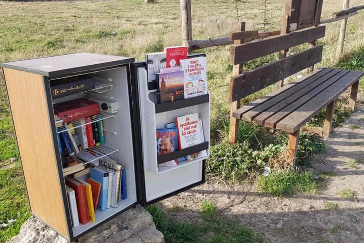 La biblioteca nel frigo, una storia di lettura e riciclo